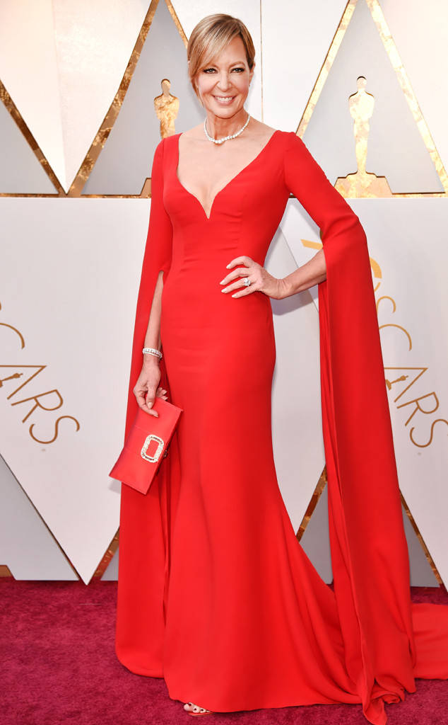Oscars 2018 Best Dressed Allison Janney