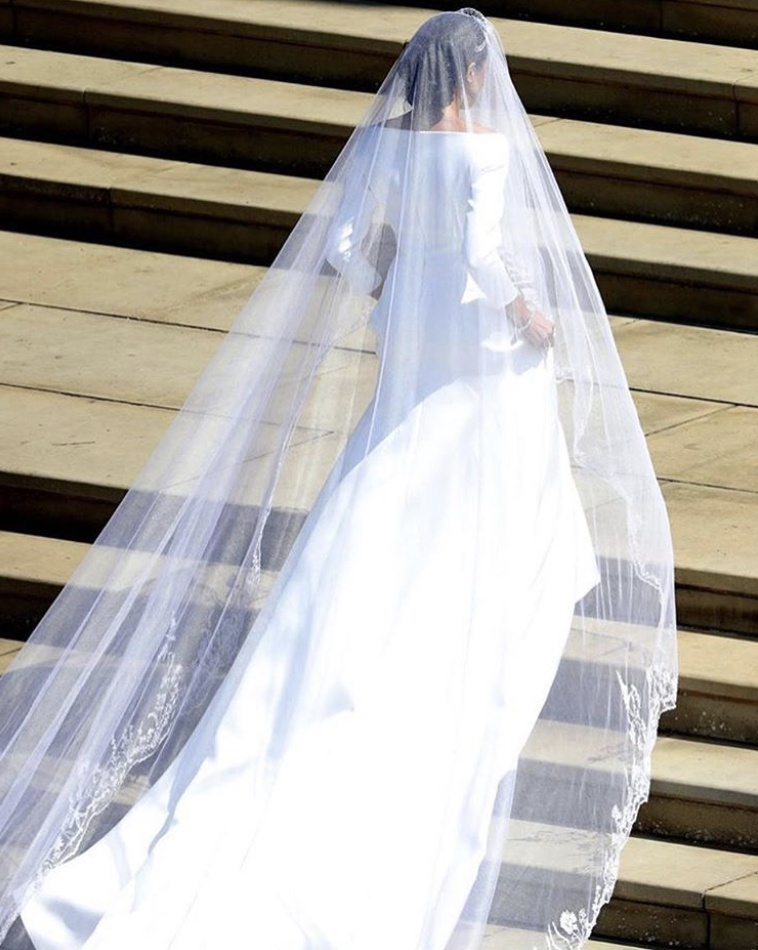 Royal Wedding - Meghan Markle - Givenchy