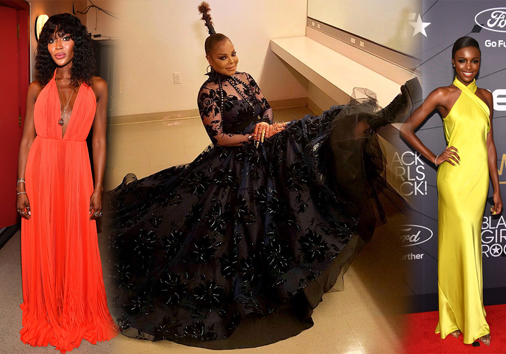 Best Dresed Black Girls Rock 2018