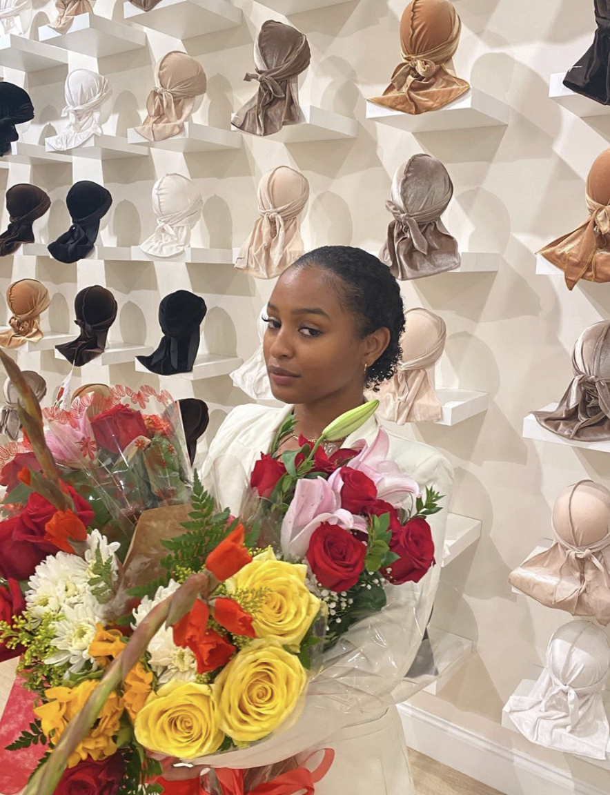 Atira Lyons in her Melrose Avenue Store - Entrepeneur
